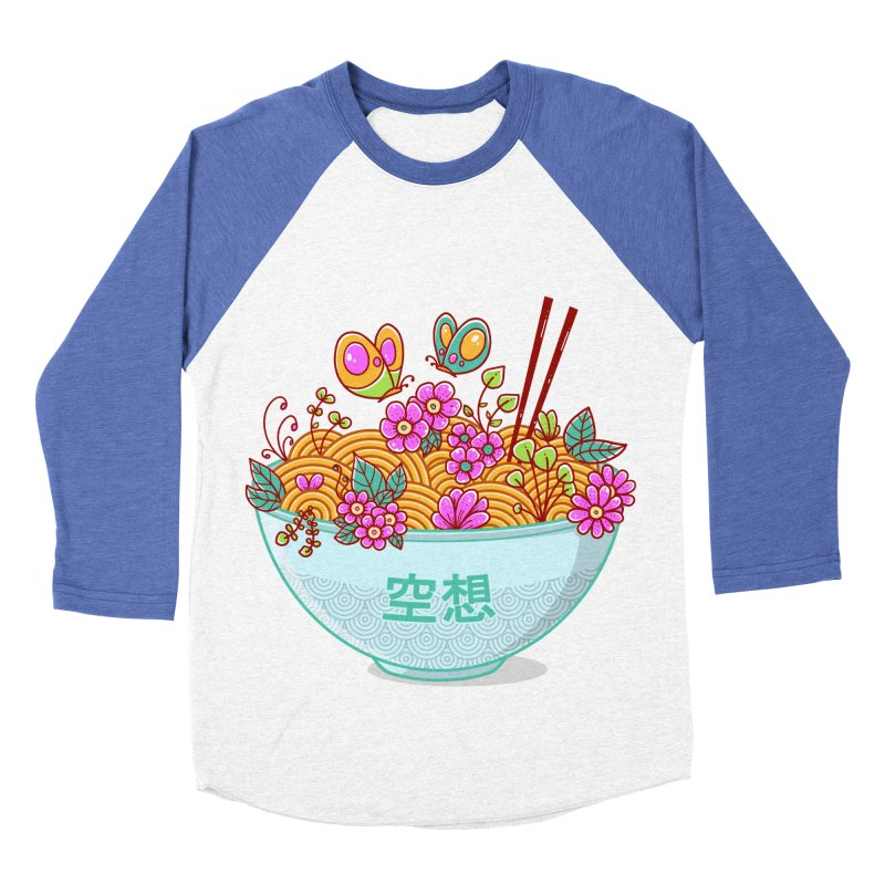 Ramen Fantasy Women's Baseball Triblend Longsleeve T-Shirt by godzillarge's Artist Shop