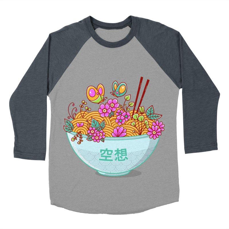 Ramen Fantasy Men's Baseball Triblend Longsleeve T-Shirt by godzillarge's Artist Shop