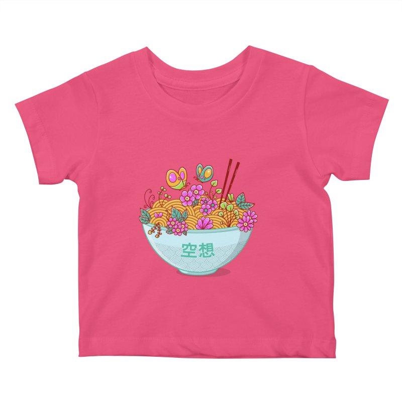 Ramen Fantasy Kids Baby T-Shirt by godzillarge's Artist Shop