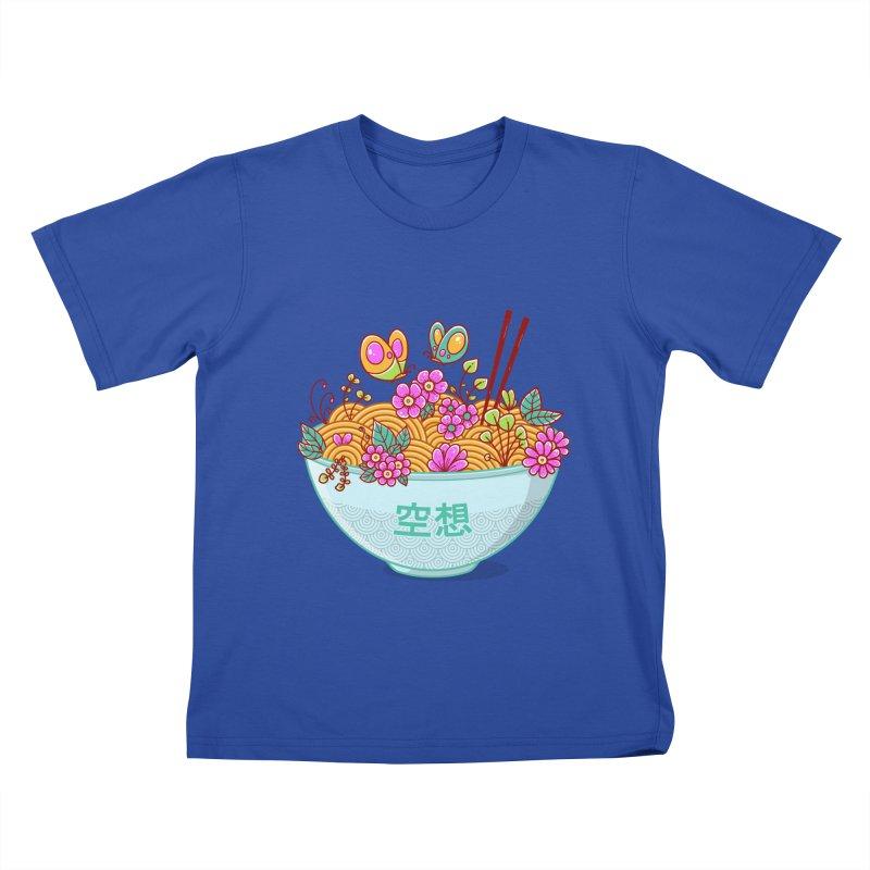 Ramen Fantasy Kids T-Shirt by godzillarge's Artist Shop