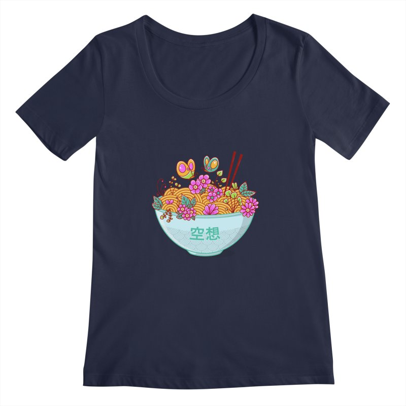 Ramen Fantasy Women's Regular Scoop Neck by godzillarge's Artist Shop