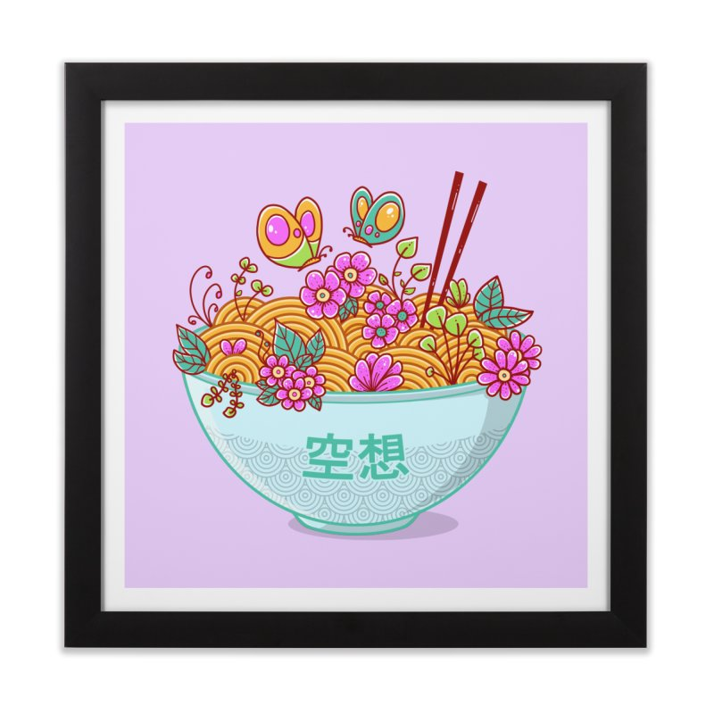 Ramen Fantasy Home Framed Fine Art Print by godzillarge's Artist Shop