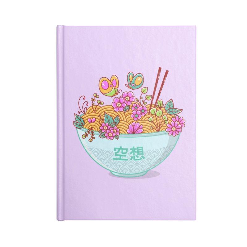 Ramen Fantasy Accessories Notebook by godzillarge's Artist Shop