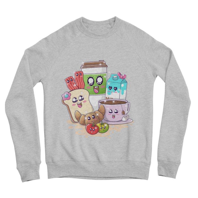 Kawaii Breakfast Women's Sponge Fleece Sweatshirt by godzillarge's Artist Shop