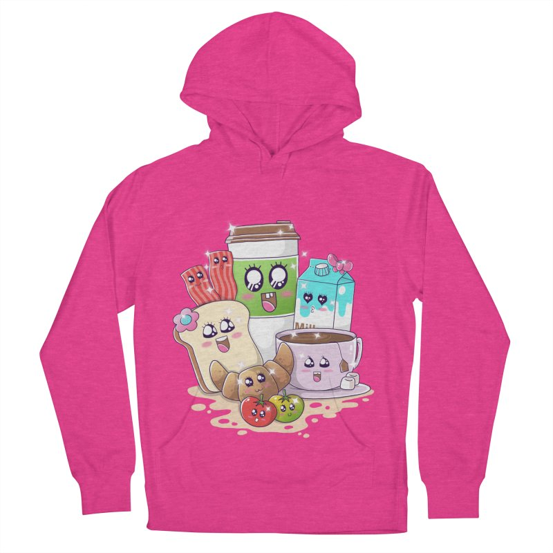 Kawaii Breakfast Women's French Terry Pullover Hoody by godzillarge's Artist Shop