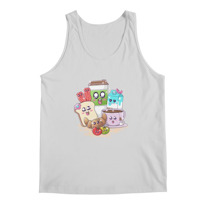 Kawaii Breakfast Men's Regular Tank by godzillarge's Artist Shop