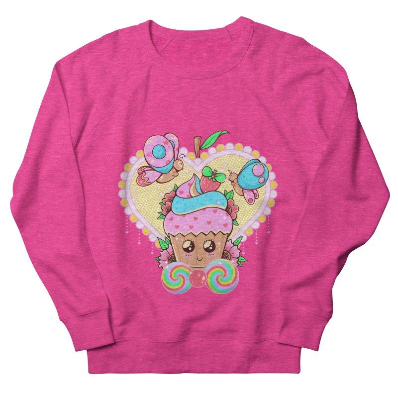 Kawaii Cupcake Women's French Terry Sweatshirt by godzillarge's Artist Shop