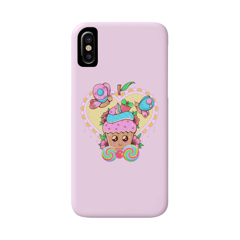Kawaii Cupcake Accessories Phone Case by godzillarge's Artist Shop