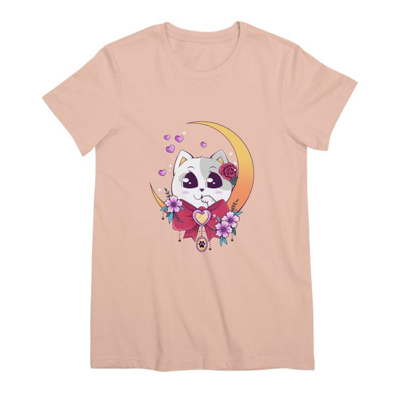 Come Here Women's Premium T-Shirt by godzillarge's Artist Shop