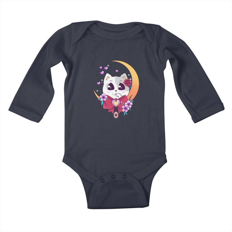 Come Here Kids Baby Longsleeve Bodysuit by godzillarge's Artist Shop