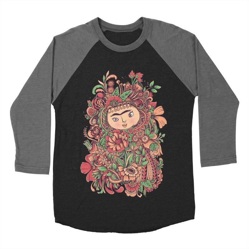 Chloris Men's Baseball Triblend Longsleeve T-Shirt by godzillarge's Artist Shop