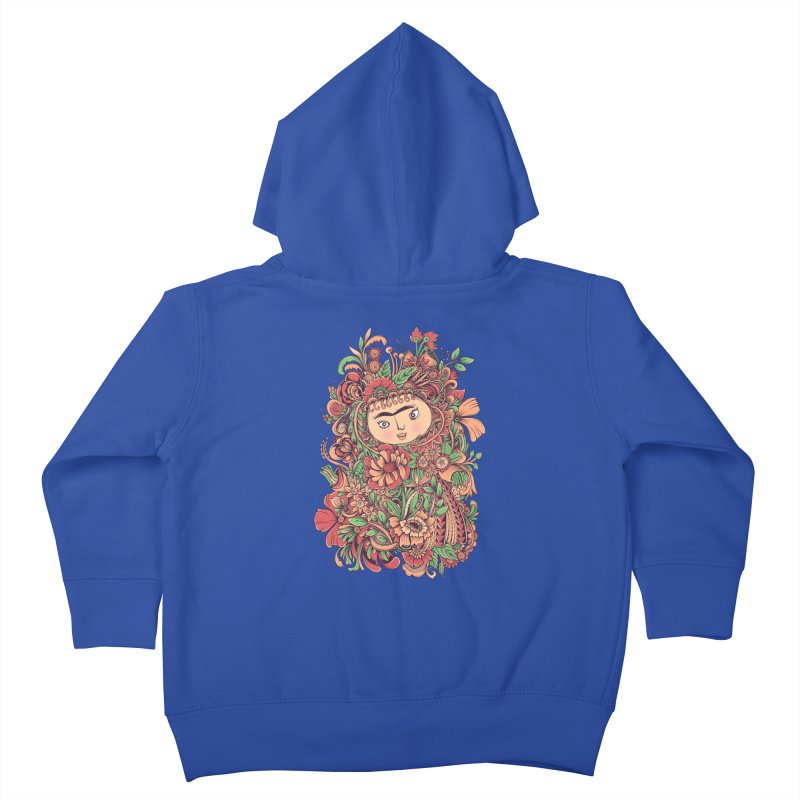 Chloris Kids Toddler Zip-Up Hoody by godzillarge's Artist Shop