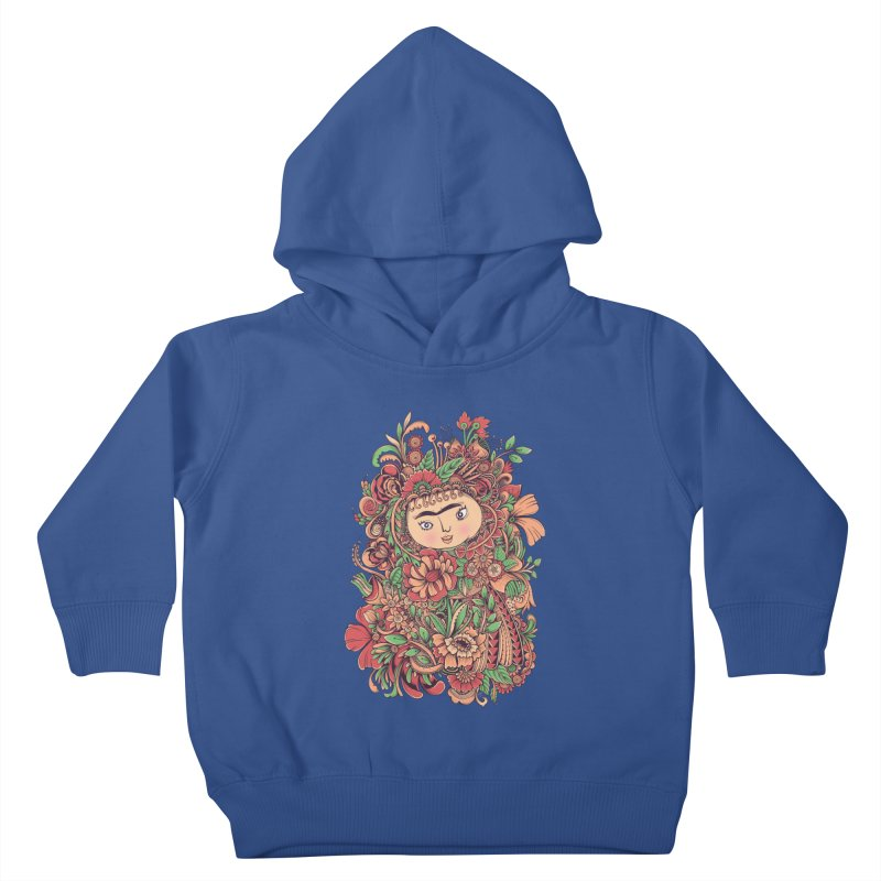 Chloris Kids Toddler Pullover Hoody by godzillarge's Artist Shop