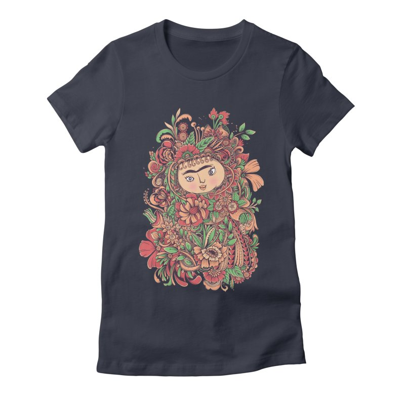 Chloris Women's Fitted T-Shirt by godzillarge's Artist Shop