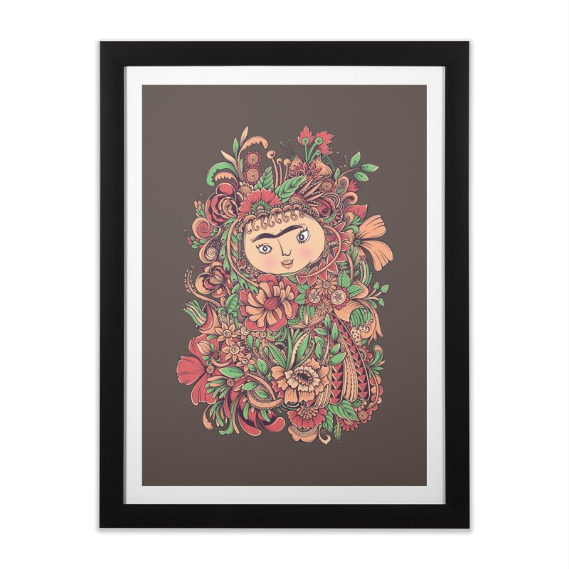 Chloris Home Framed Fine Art Print by godzillarge's Artist Shop