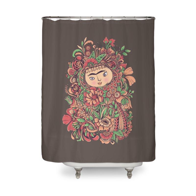Chloris Home Shower Curtain by godzillarge's Artist Shop