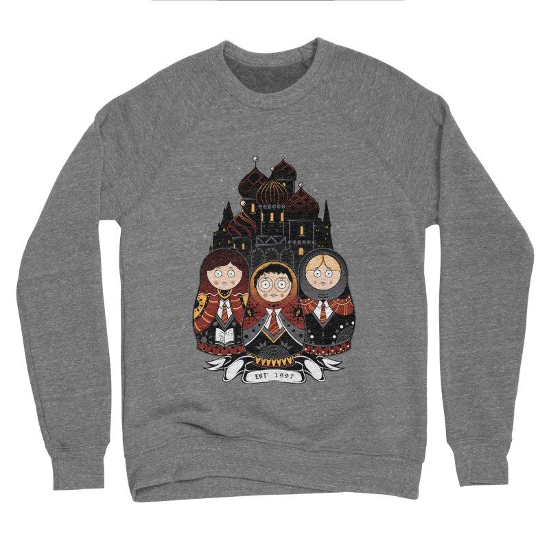 School of Wizardry Women's Sponge Fleece Sweatshirt by godzillarge's Artist Shop