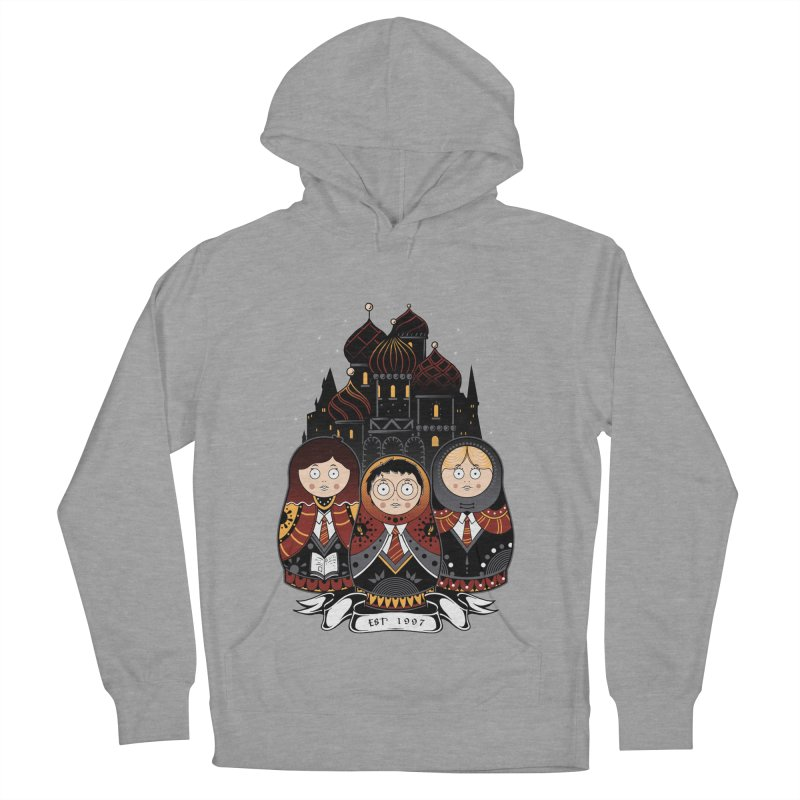 School of Wizardry Men's French Terry Pullover Hoody by godzillarge's Artist Shop