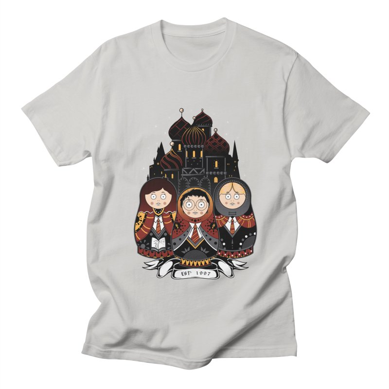 School of Wizardry Women's Regular Unisex T-Shirt by godzillarge's Artist Shop