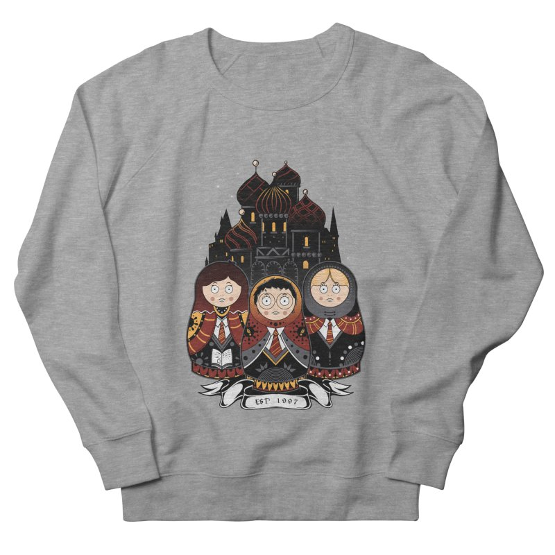 School of Wizardry Men's French Terry Sweatshirt by godzillarge's Artist Shop