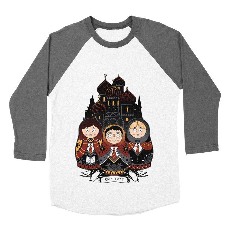 School of Wizardry Men's Baseball Triblend Longsleeve T-Shirt by godzillarge's Artist Shop