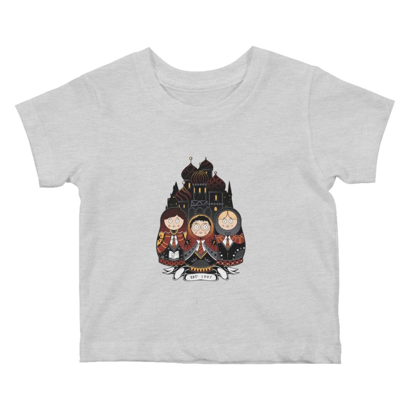 School of Wizardry Kids Baby T-Shirt by godzillarge's Artist Shop