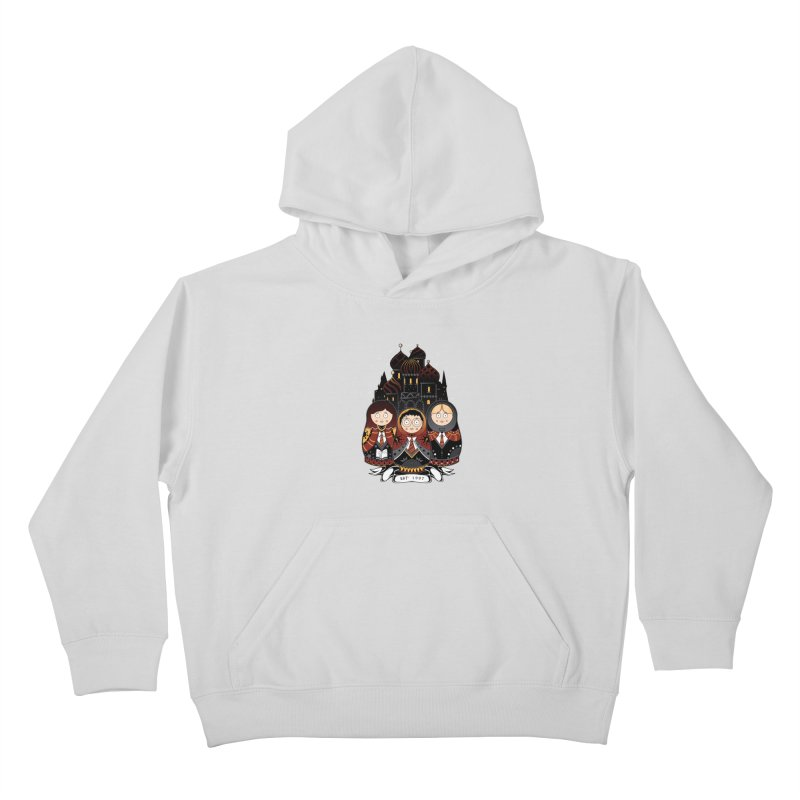 School of Wizardry Kids Pullover Hoody by godzillarge's Artist Shop