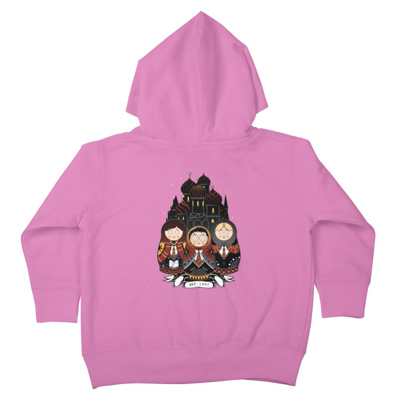 School of Wizardry Kids Toddler Zip-Up Hoody by godzillarge's Artist Shop