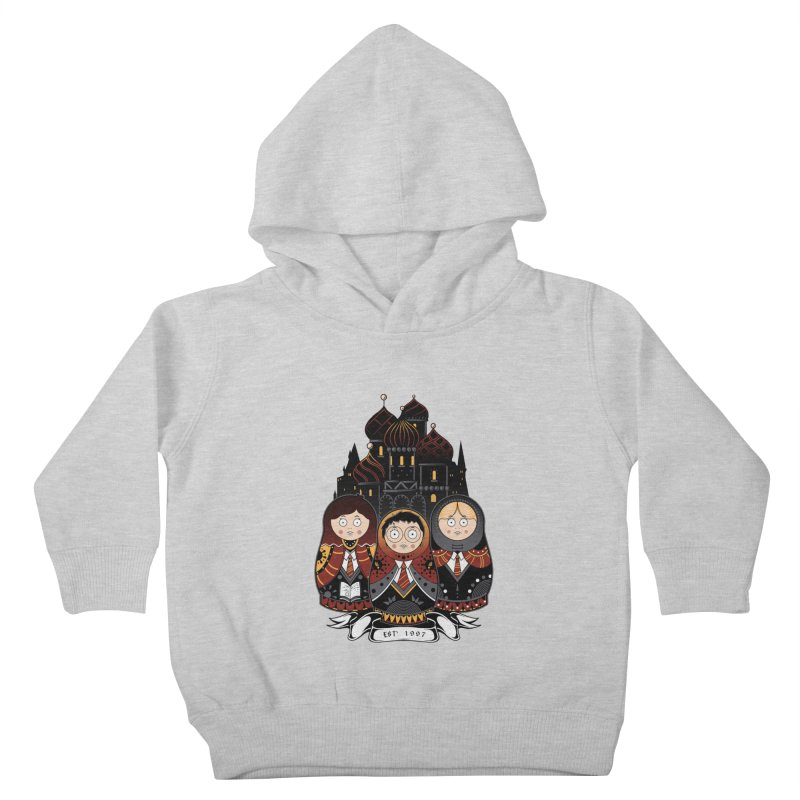 School of Wizardry Kids Toddler Pullover Hoody by godzillarge's Artist Shop