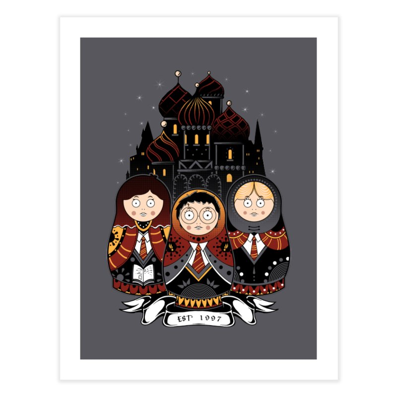 School of Wizardry Home Fine Art Print by godzillarge's Artist Shop