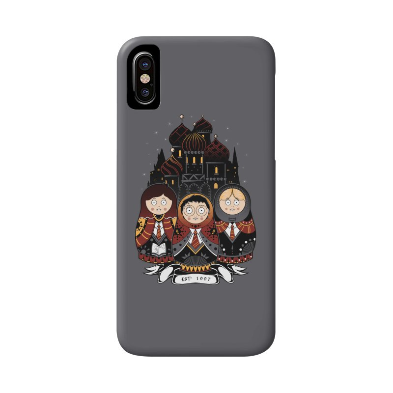 School of Wizardry Accessories Phone Case by godzillarge's Artist Shop