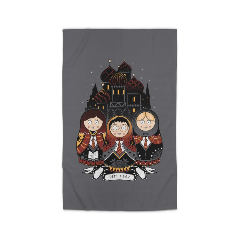 School of Wizardry Home Rug by godzillarge's Artist Shop