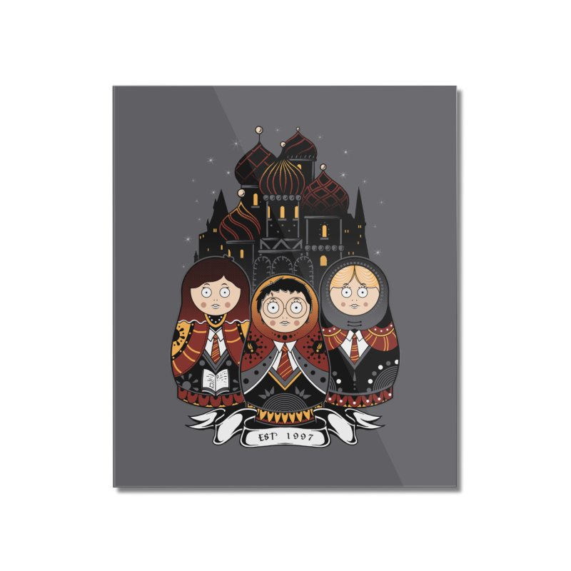 School of Wizardry Home Mounted Acrylic Print by godzillarge's Artist Shop