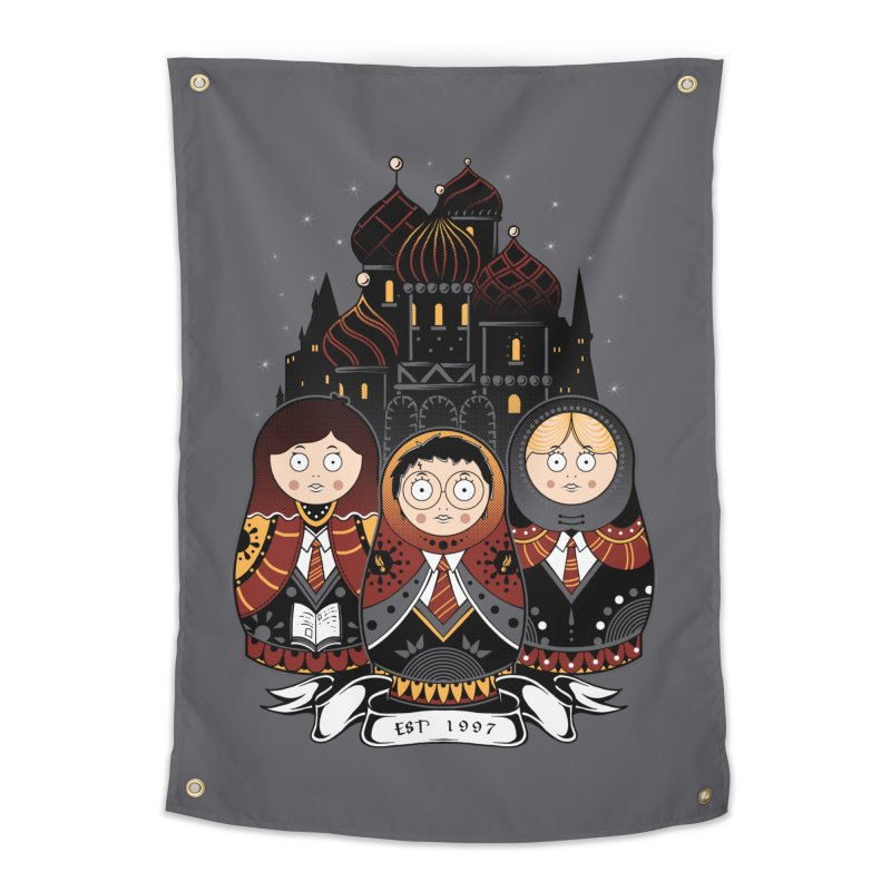 School of Wizardry Home Tapestry by godzillarge's Artist Shop