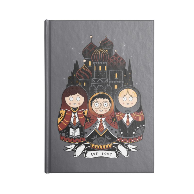 School of Wizardry Accessories Notebook by godzillarge's Artist Shop