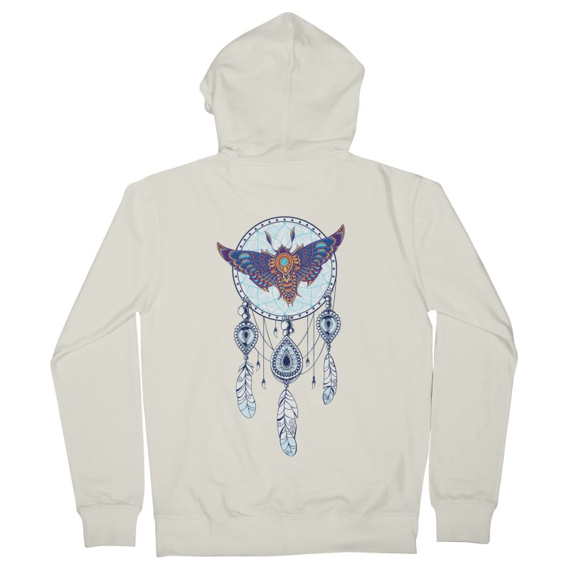 Weird Dreams Women's French Terry Zip-Up Hoody by godzillarge's Artist Shop