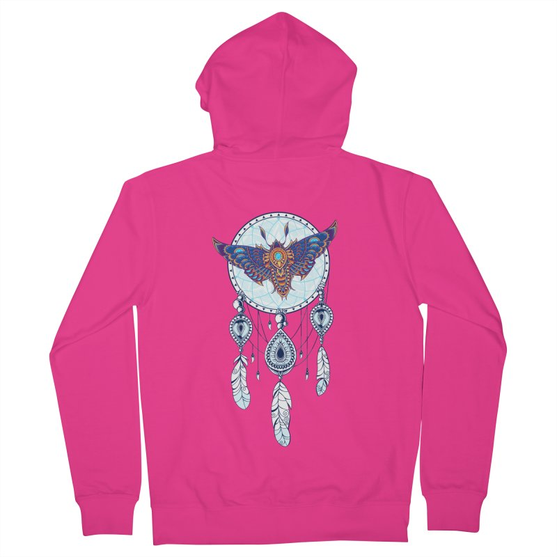 Weird Dreams Men's French Terry Zip-Up Hoody by godzillarge's Artist Shop