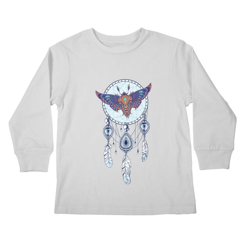Weird Dreams Kids Longsleeve T-Shirt by godzillarge's Artist Shop