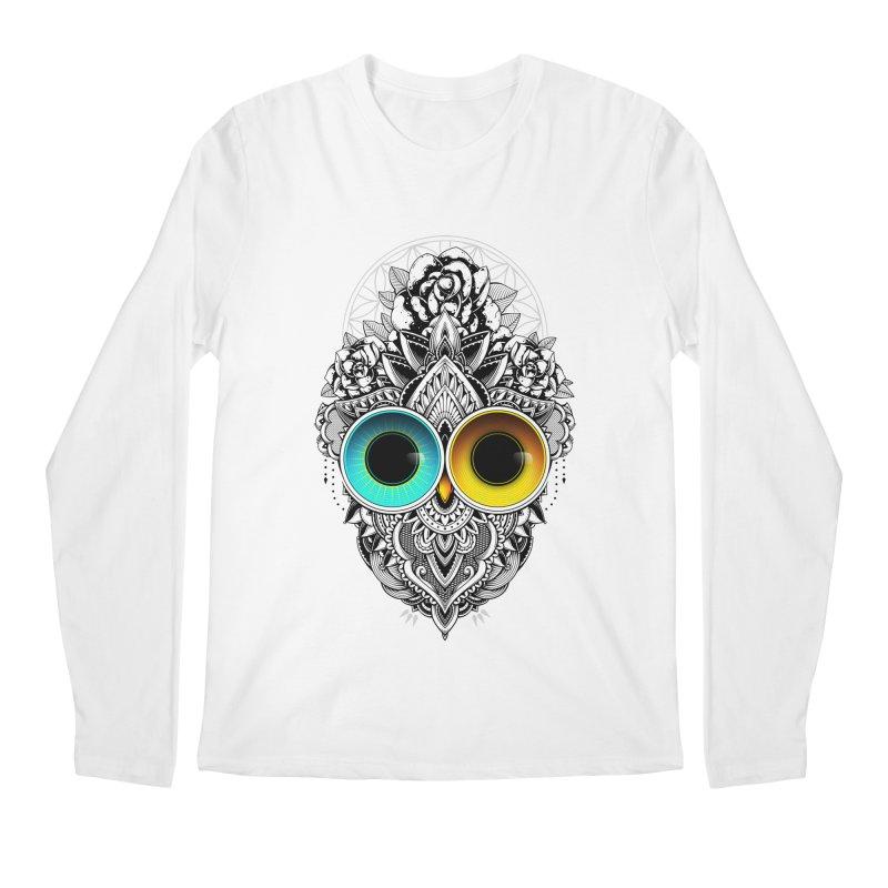 Eclipse Men's Regular Longsleeve T-Shirt by godzillarge's Artist Shop