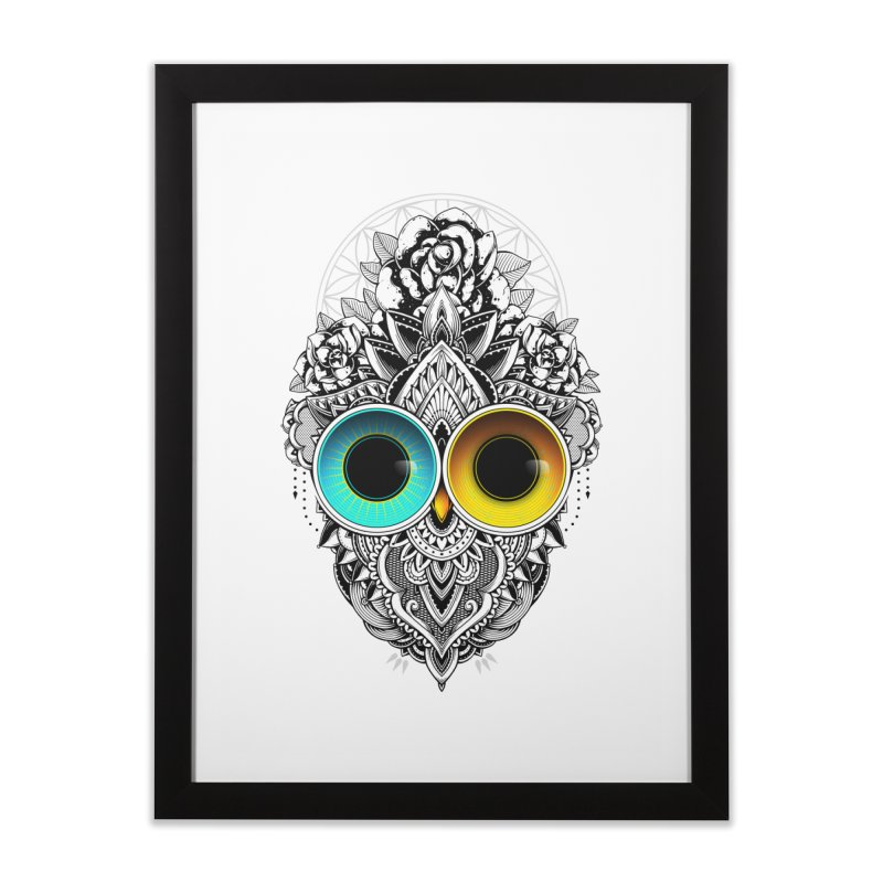 Eclipse Home Framed Fine Art Print by godzillarge's Artist Shop