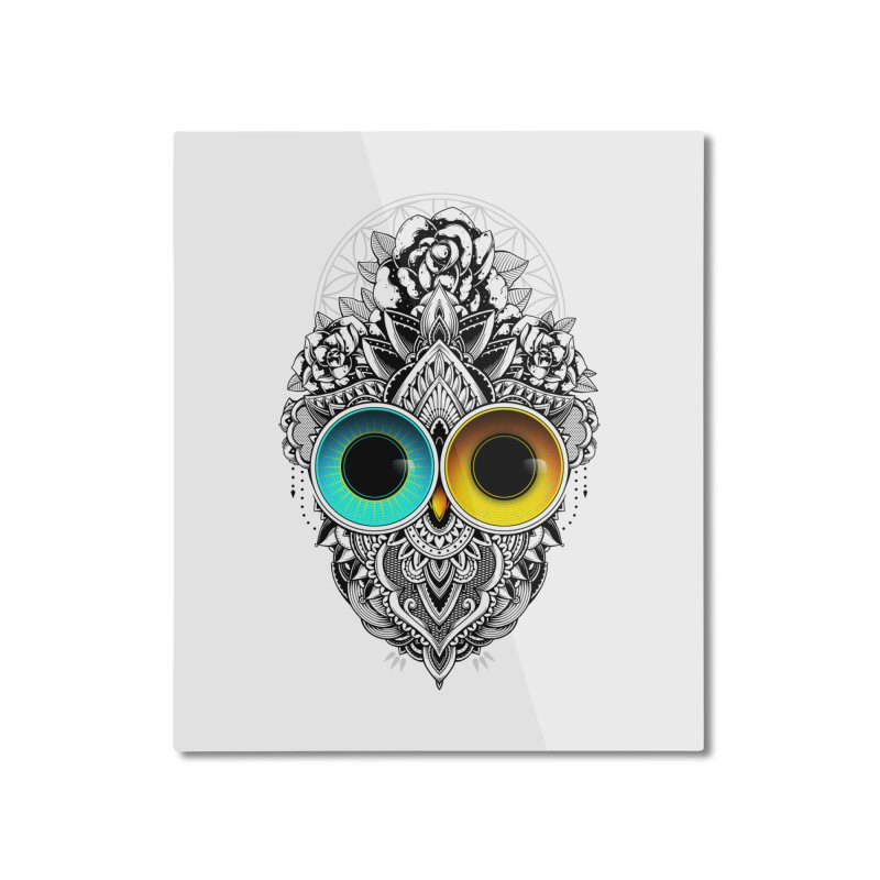 Eclipse Home Mounted Aluminum Print by godzillarge's Artist Shop