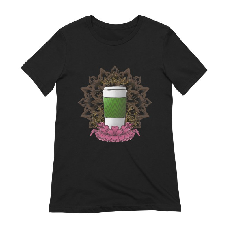 Autumn Latte Women's Extra Soft T-Shirt by godzillarge's Artist Shop