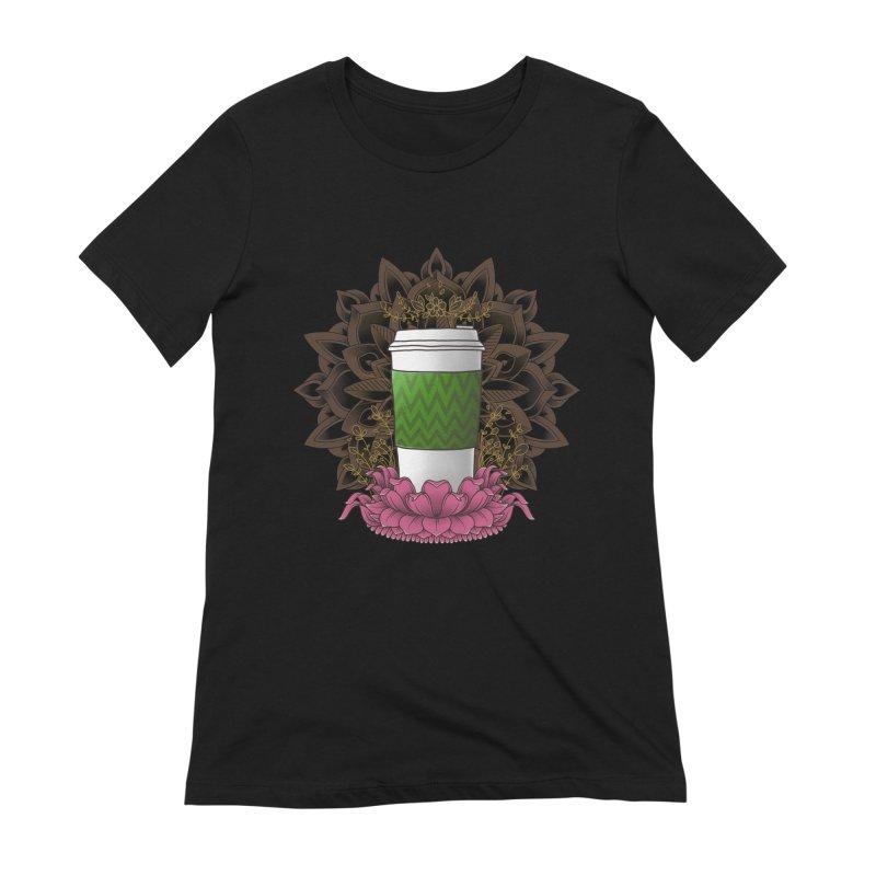Autumn Latte Women's Extra Soft T-Shirt by godzillarge's Artist Shop