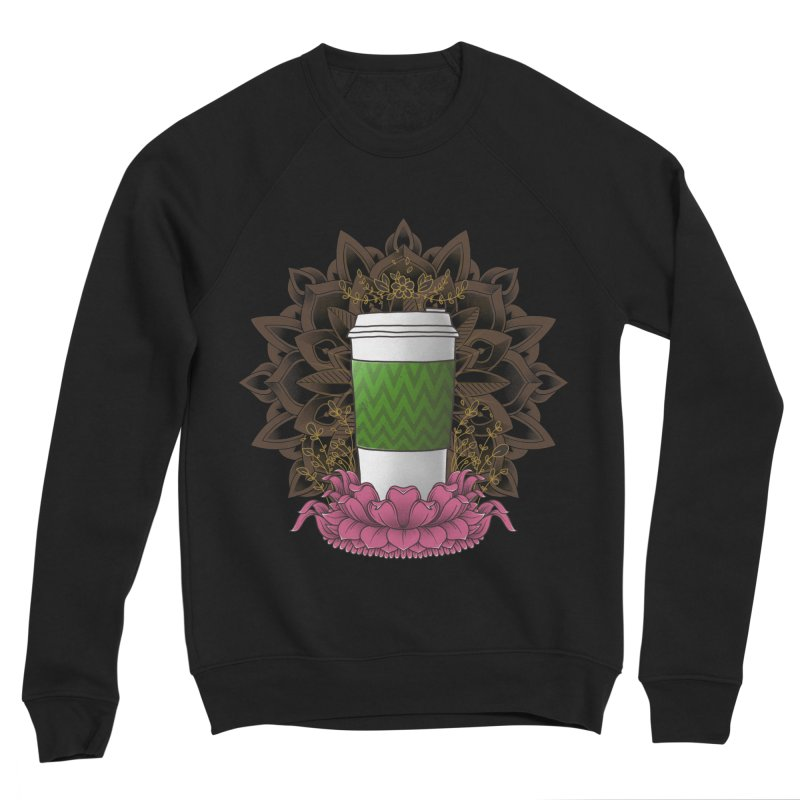 Autumn Latte Men's Sponge Fleece Sweatshirt by godzillarge's Artist Shop