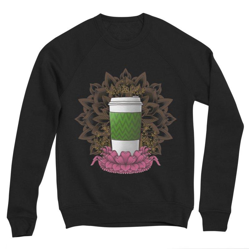 Autumn Latte Women's Sponge Fleece Sweatshirt by godzillarge's Artist Shop