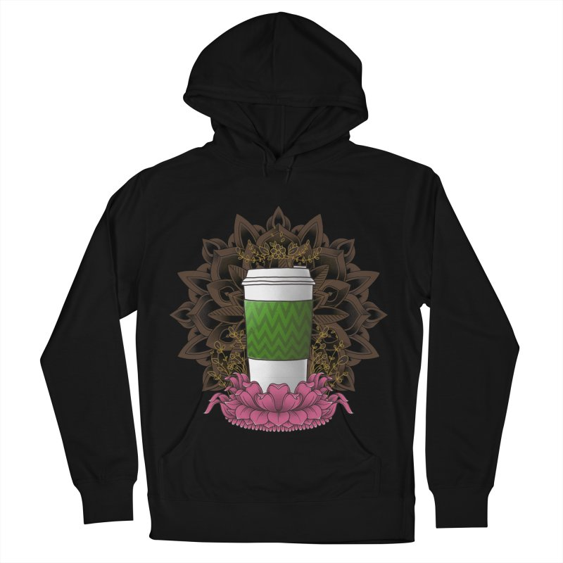 Autumn Latte Men's French Terry Pullover Hoody by godzillarge's Artist Shop