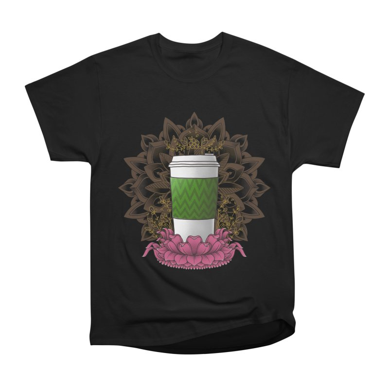 Autumn Latte Men's Heavyweight T-Shirt by godzillarge's Artist Shop