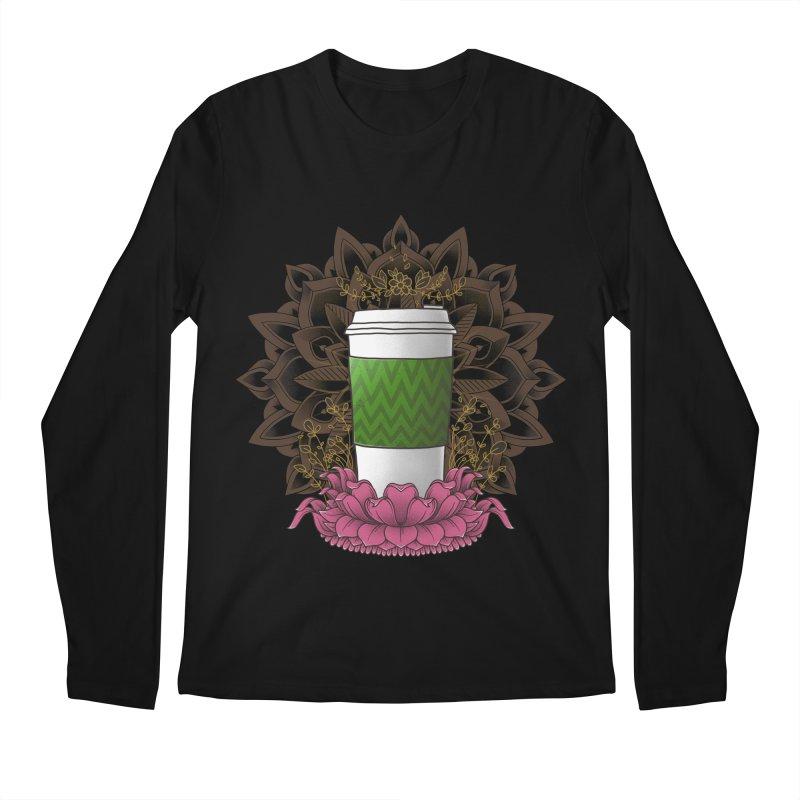 Autumn Latte Men's Regular Longsleeve T-Shirt by godzillarge's Artist Shop