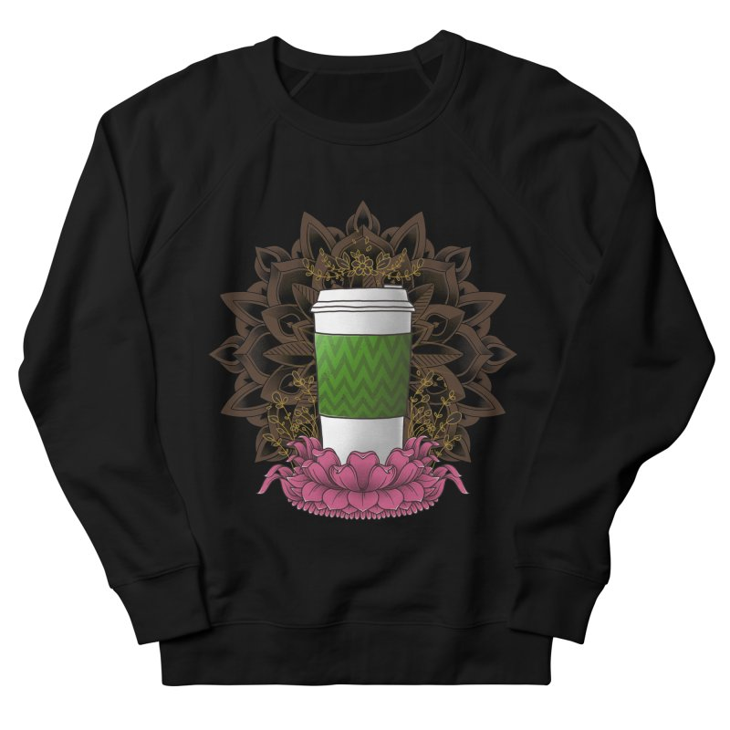 Autumn Latte Women's French Terry Sweatshirt by godzillarge's Artist Shop