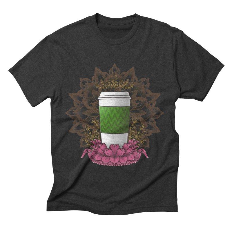 Autumn Latte Men's Triblend T-Shirt by godzillarge's Artist Shop